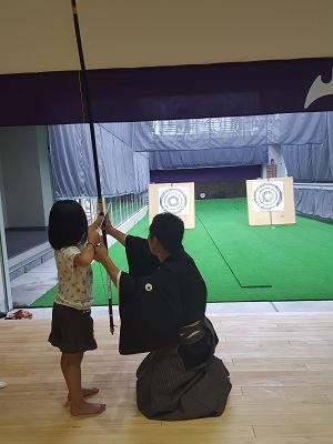 弓道教室体験