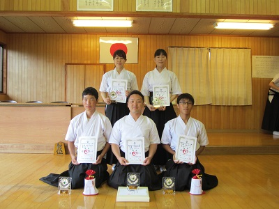福山スポーツ祭協賛 福山市弓道選手権大会