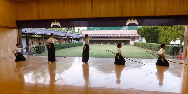 弓道教室演武