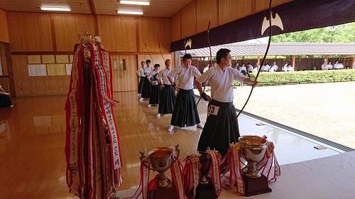 第40回 ばら祭協賛 福山市近県弓道大会